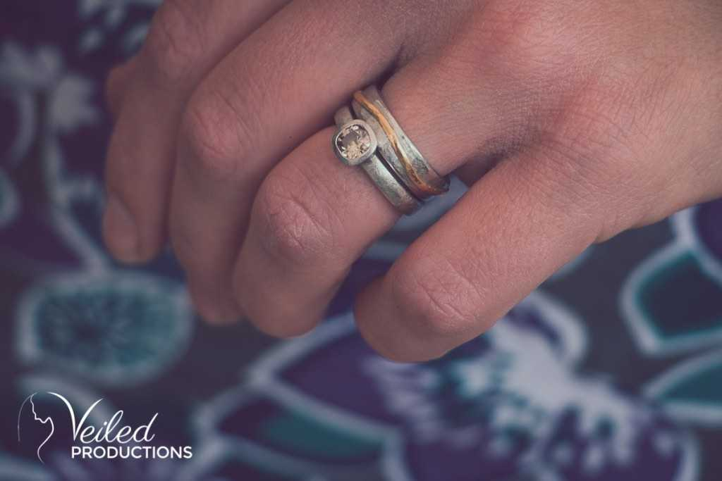 Emily Fermor wedding Jewellery - wedding-rings - photography by Veiled Productions