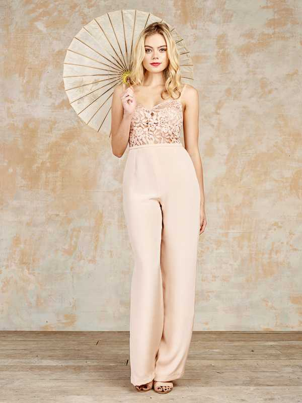 House of Ollichon Dressless Wedding - The Lockwood bridal jumpsuit