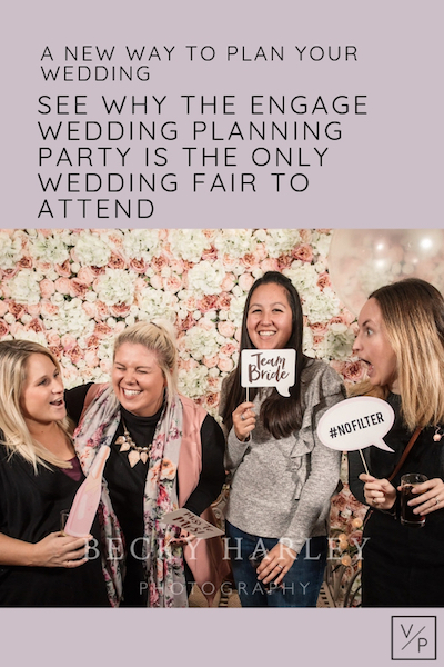 A new way to plan your wedding. Engage Wedding planning party at Coltsfoot Country Retreat