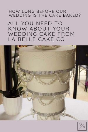 Chandelier Cake by La Belle Cake Co