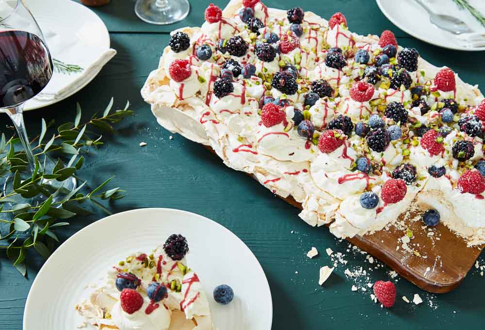 Alternative wedding catering - ideas by Hall and Co - help yourself desserts
