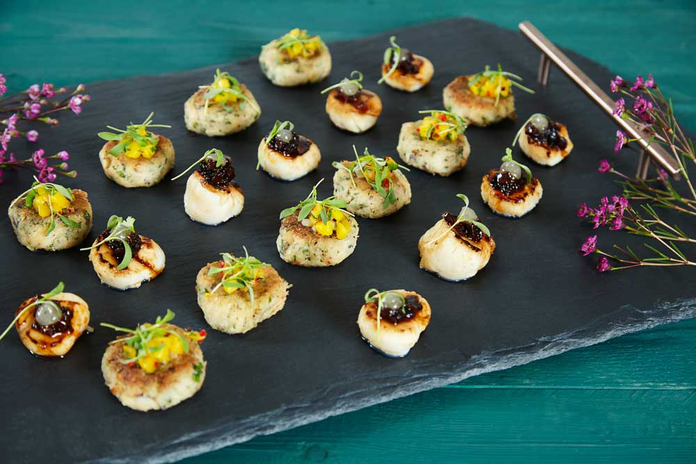 Alternative wedding catering recommendations by hall and co for Wedding canape alternatives