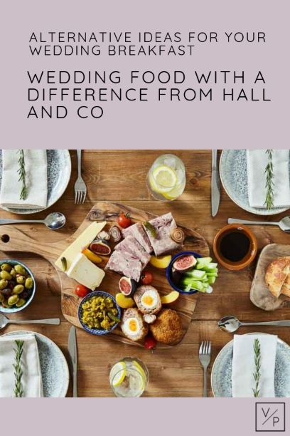 Hall and Co alternative wedding food