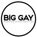 Featured on the Big Gay Wedding Directory badge - Veiled Productions - Fun wedding films Northants
