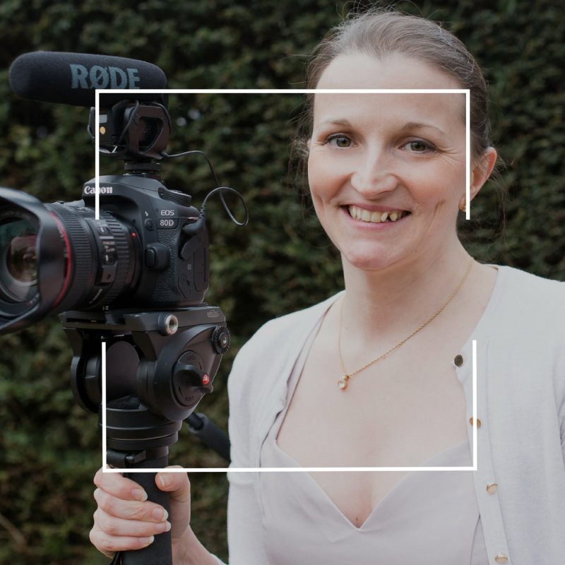 Rachel Vine creator of Veiled Productions - fun wedding films in Cambridgeshire, Hertfordshire, Bedfordshire and Essex