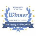 Veiled Productions fun wedding films - award winning wedding videographer Oxfordshire - Bridebook Videographer of the Year 2018