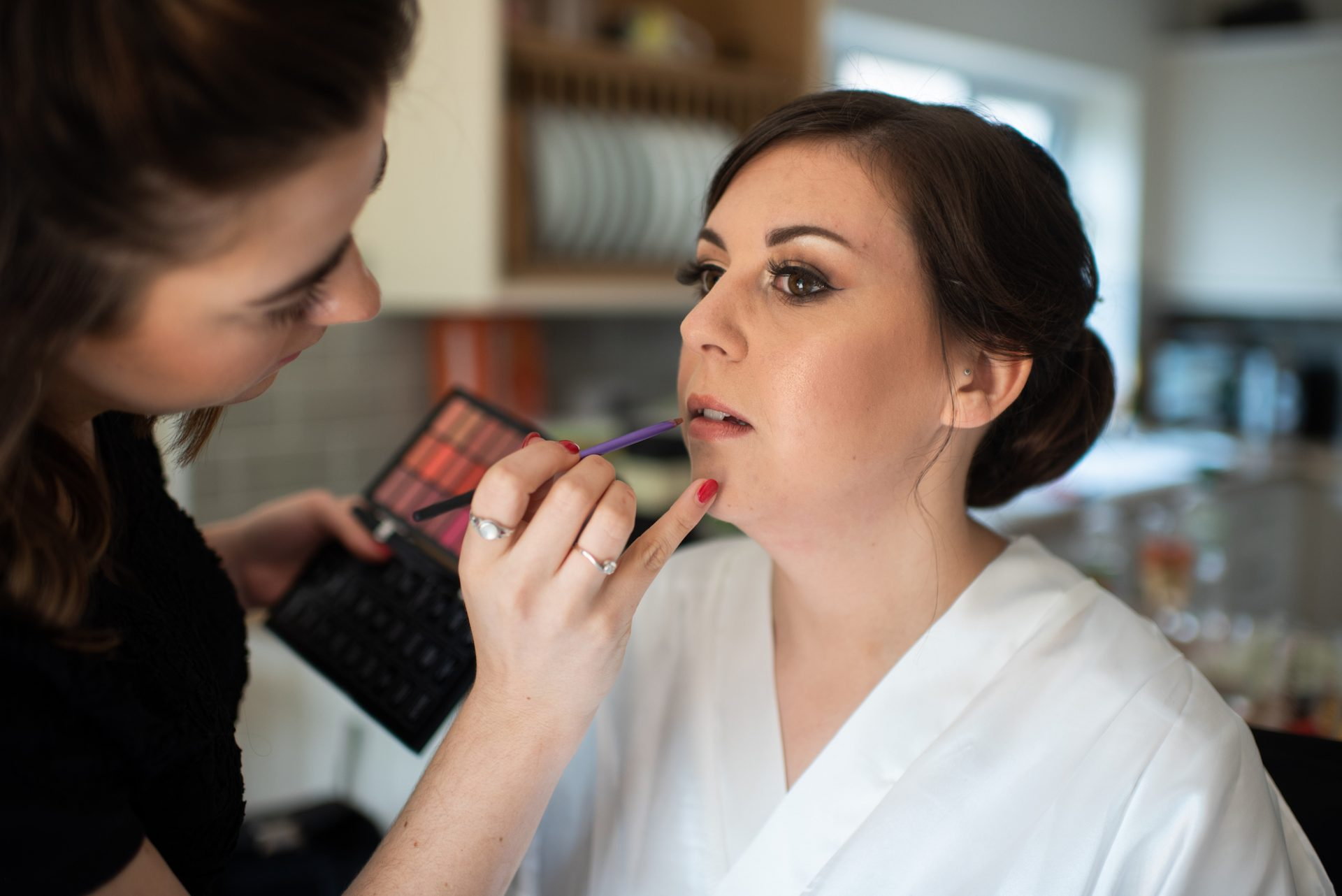 Abbie Make Up by Joely Richardson - photography by Ryan Jarvis - Film by Veiled Productions - Old Hall Ely Wedding Videographer