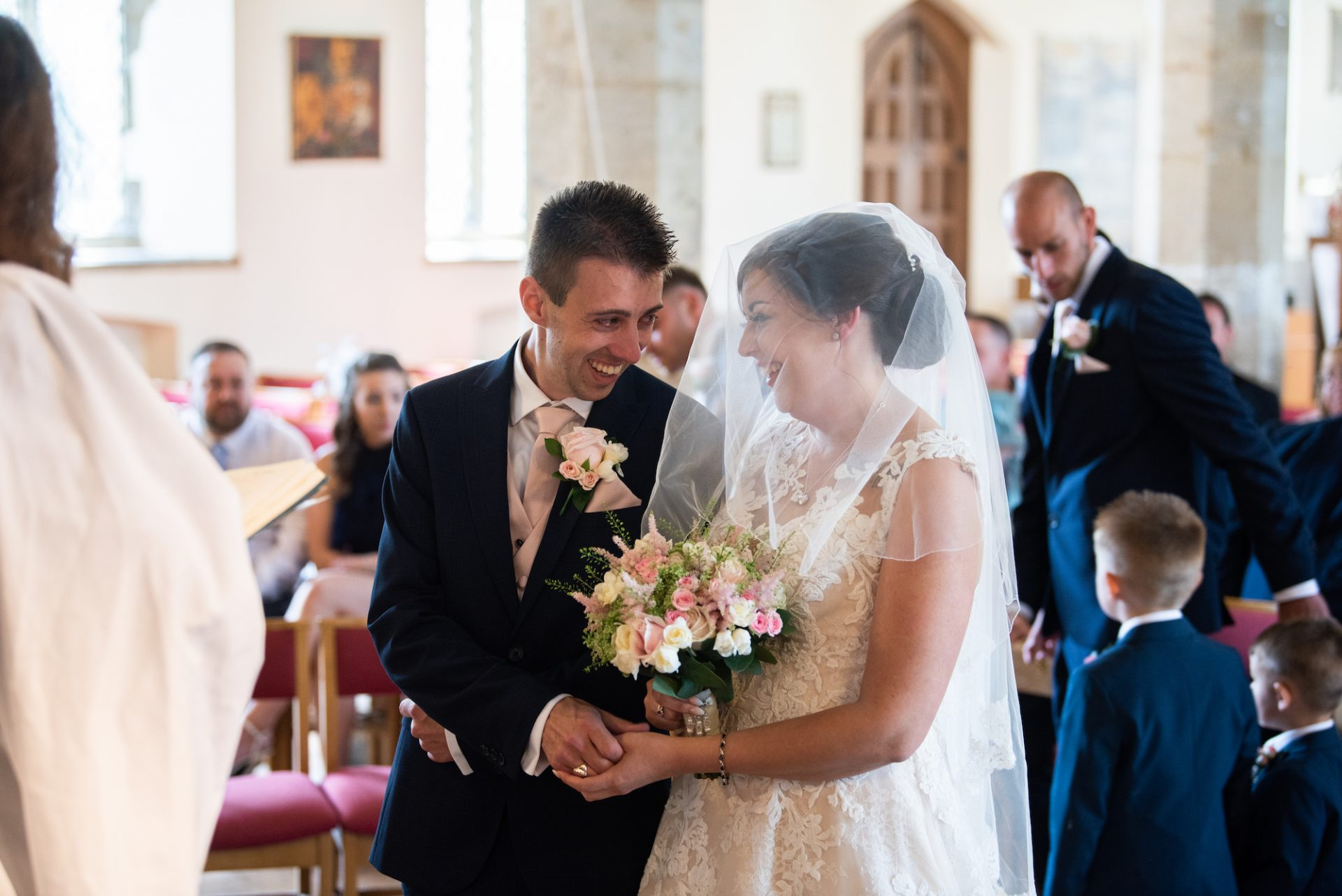 Abbie and Bretts Wedding at Chatteris Parish Church - photography by Ryan Jarvis - film by Veiled Productions - Old Hall Ely Wedding Videographer
