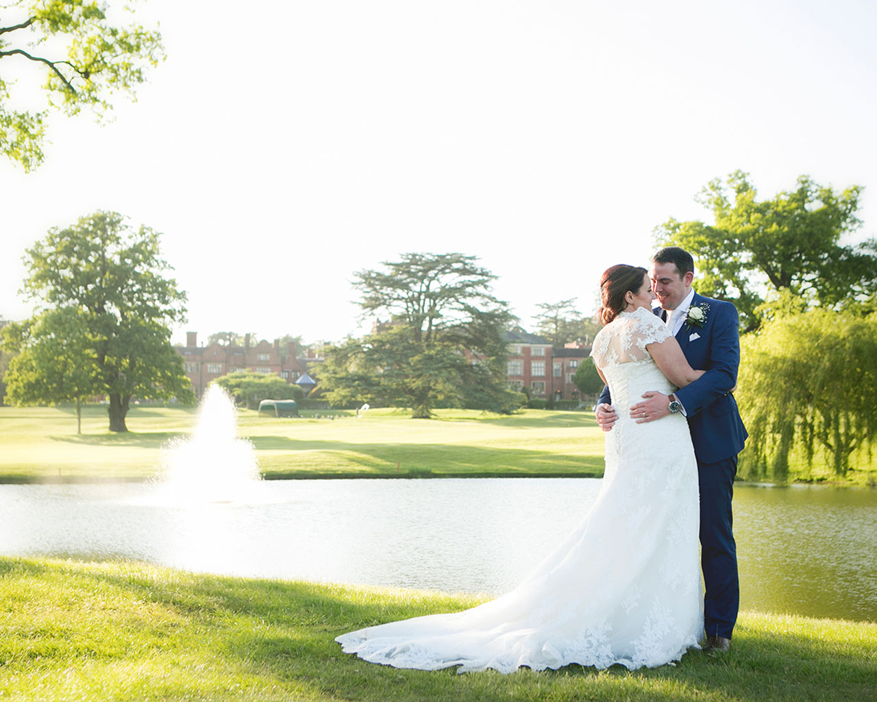 Anne Marie and Andrew Wedding - Photography by Katrina Matthews Photography - Videography by Veiled Productions - Hanbury Manor Wedding Videographer