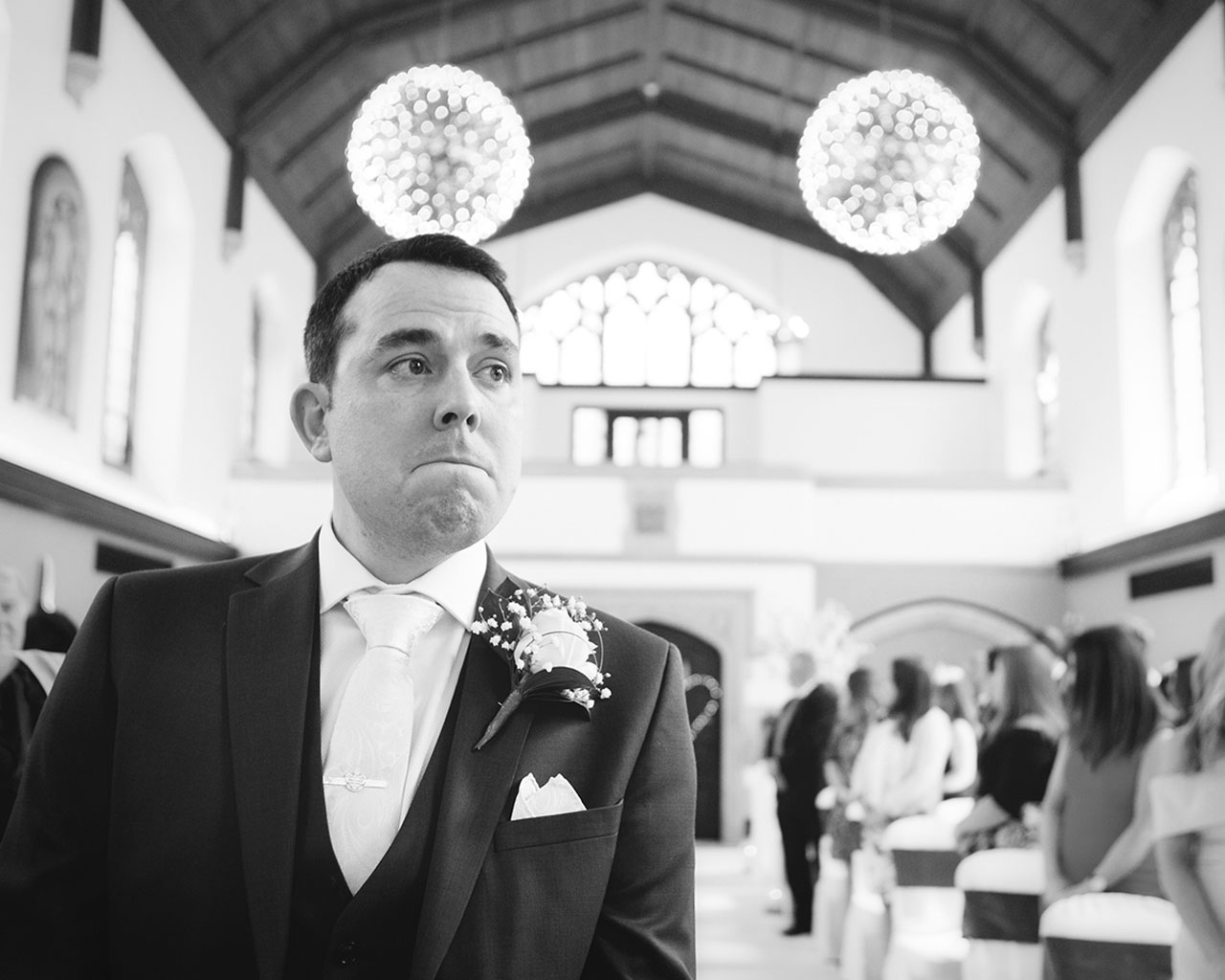 Anne Marie and Andrew Wedding Ceremony - Photography by Katrina Matthews Photography - Videography by Veiled Productions - Hanbury Manor Wedding Videographer