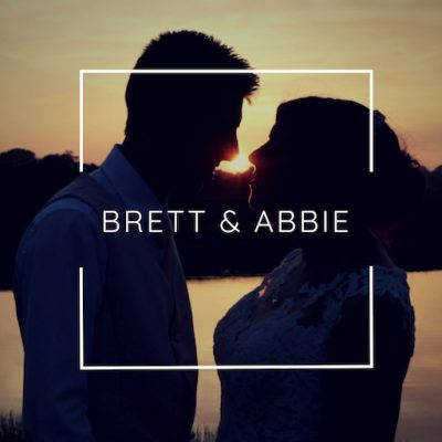 Brett and Abbie at Sunset - Films by award winning wedding videographer Veiled Productions - Old Hall Ely Wedding Videographer