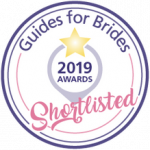 Guides for Brides 2019 Awards shortlisted badge