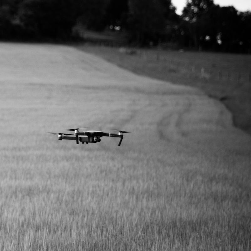 Flying drones at weddings and why it might not always work for your wedding film by Veiled Productions