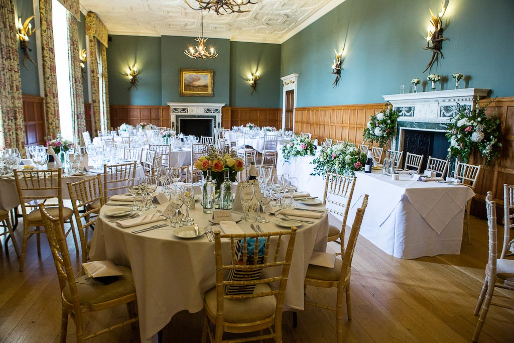 Eynsham Hall wedding reception - Rebecca and Mark - photography by Rob Wheal Photography | Oxfordshire wedding videography by Veiled Productions